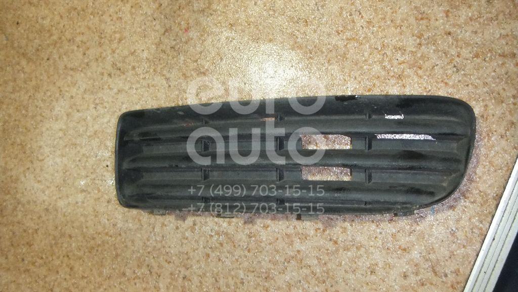 Решетка в бампер левая для Skoda Octavia (A4 1U-) 2000-2011 - Фото №1