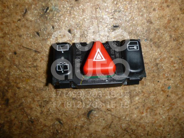 Кнопка аварийной сигнализации для Mercedes Benz W210 E-Klasse 2000-2002;W202 1993-2000;W210 E-Klasse 1995-2000 - Фото №1