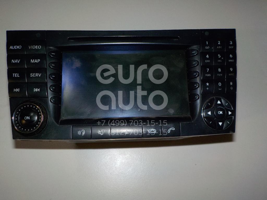 Магнитола для Mercedes Benz W219 CLS 2004-2010 - Фото №1
