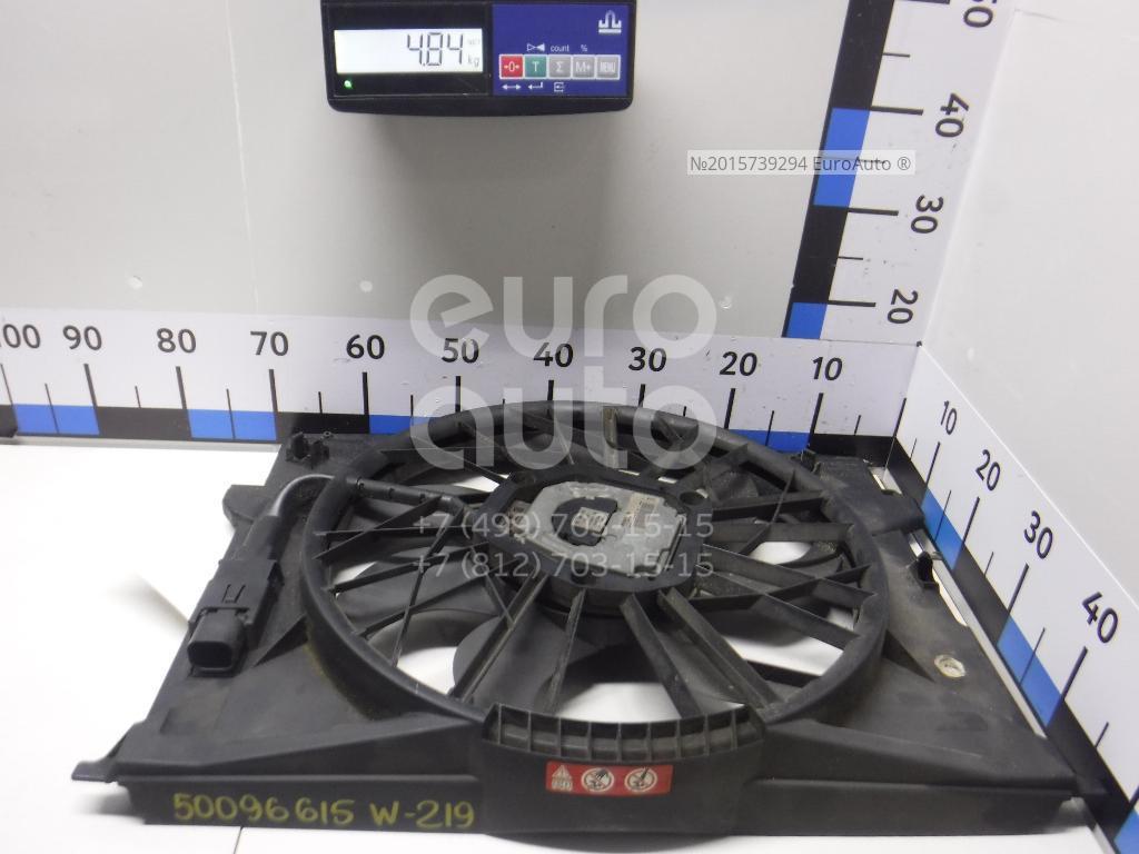Вентилятор радиатора для Mercedes Benz W219 CLS 2004-2010 - Фото №1