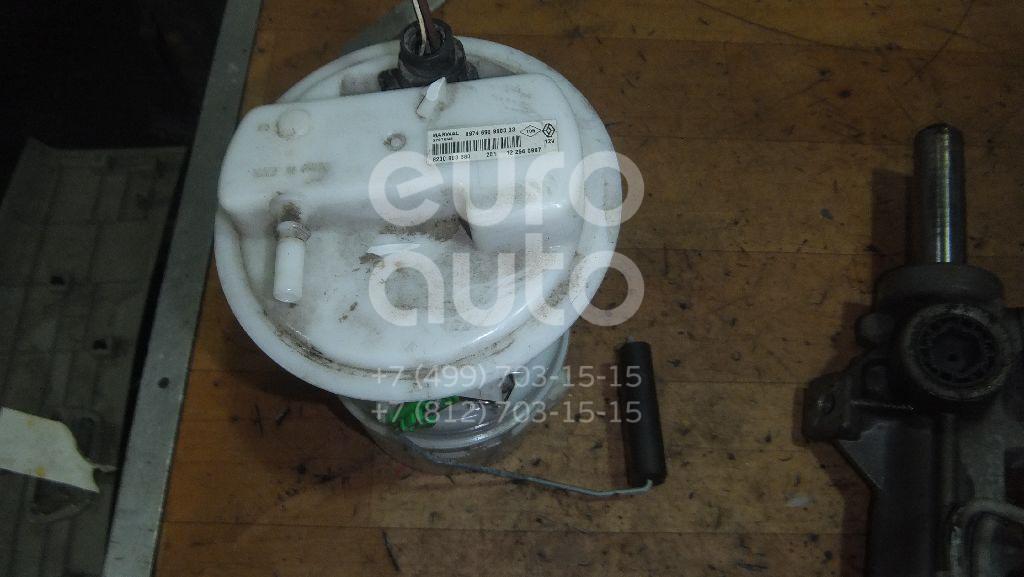 Насос топливный электрический для Renault,VAZ,Nissan Duster 2012>;Logan 2005-2014;Sandero 2009-2014;Lada Largus 2011>;Almera (G15) 2013> - Фото №1