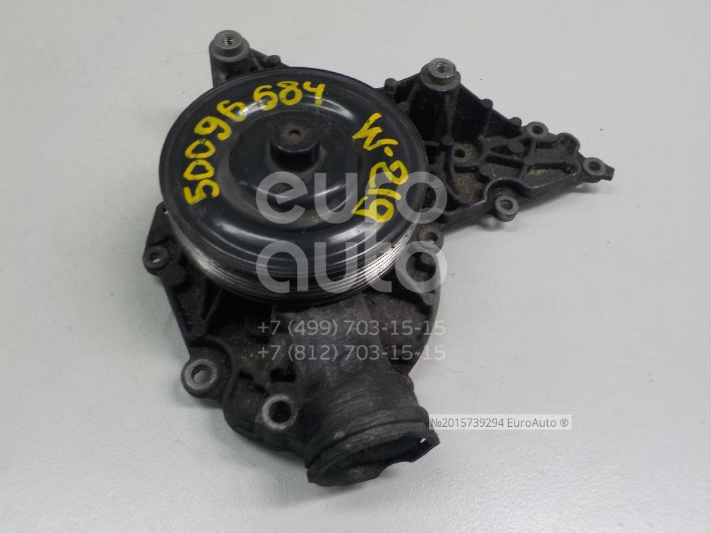Насос водяной (помпа) для Mercedes Benz W219 CLS 2004-2010;W203 2000-2006;C209 CLK coupe 2002-2010;W211 E-Klasse 2002-2009;R171 SLK 2004-2011;CL203 CLC 2008-2011 - Фото №1