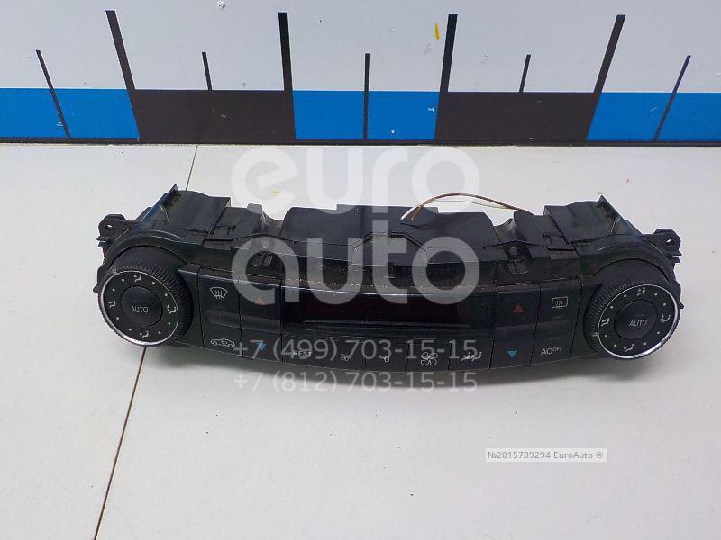 Блок управления климатической установкой для Mercedes Benz W219 CLS 2004-2010 - Фото №1