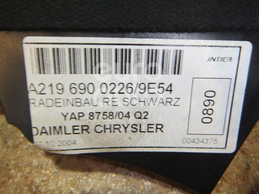 Обшивка стойки для Mercedes Benz W219 CLS 2004-2010 - Фото №1