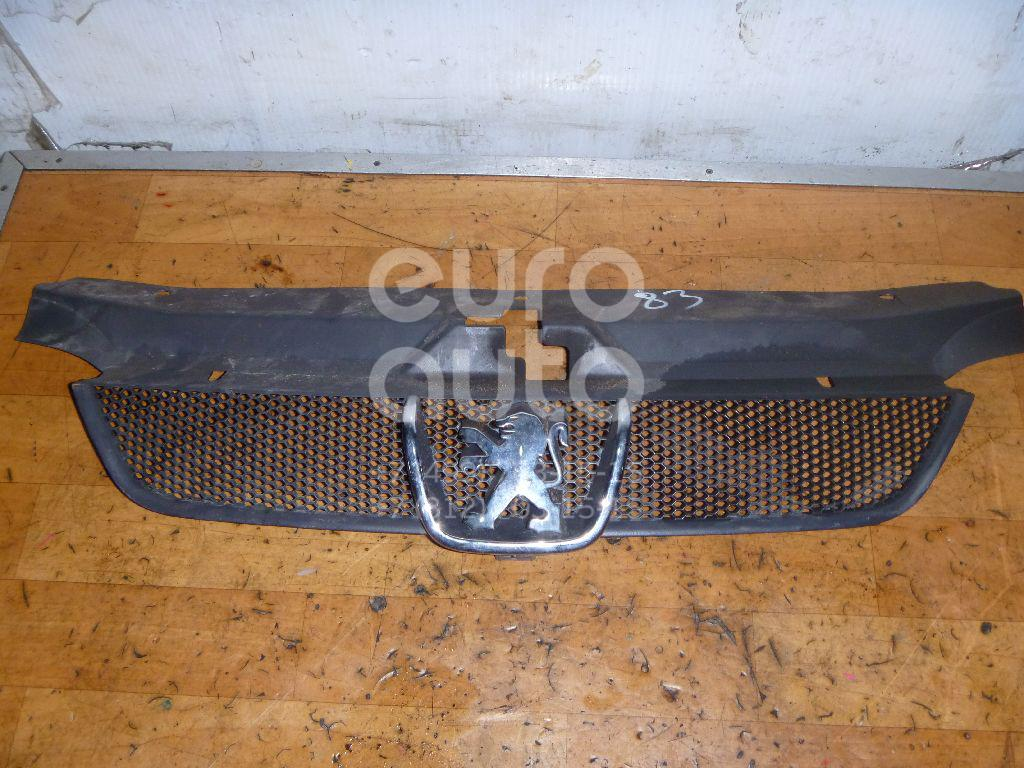 Решетка радиатора для Peugeot 406 1999-2004 - Фото №1