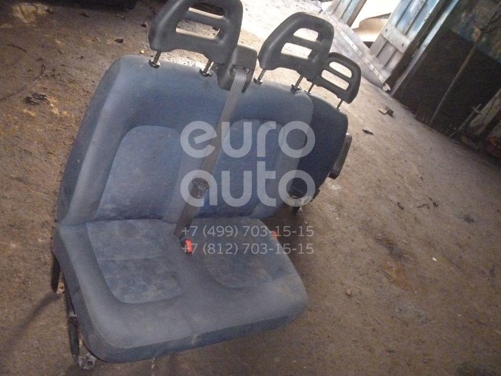Сиденье переднее правое двойное для Fiat Ducato (+ЕЛАБУГА) 2002-2006 - Фото №1