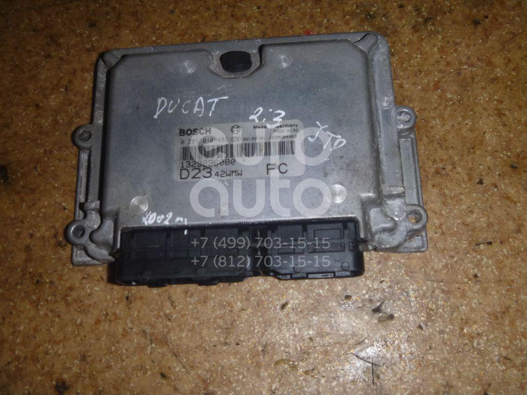 Блок управления двигателем для Fiat Ducato 244 (+ЕЛАБУГА) 2002-2006 - Фото №1