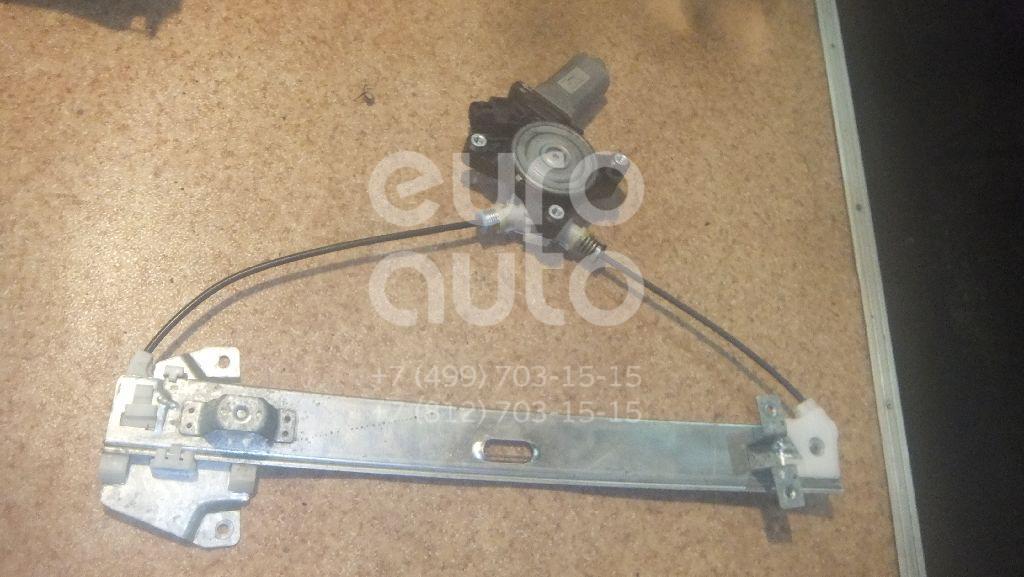 Стеклоподъемник электр. задний правый для Mitsubishi Galant (DJ,DM) 2003-2012 - Фото №1