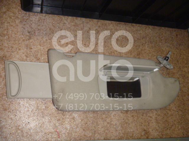Козырек солнцезащитный (внутри) для Mitsubishi Galant (DJ,DM) 2003-2012 - Фото №1