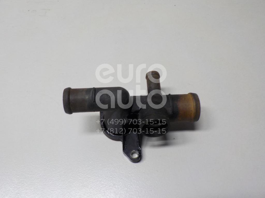 Фланец двигателя системы охлаждения для Skoda,Audi,Seat,VW Octavia (A4 1U-) 2000-2011;A3 (8L1) 1996-2003;Toledo II 1999-2006;Octavia 1997-2000;Golf IV/Bora 1997-2005;Ibiza III 1999-2002;Cordoba 1999-2002 - Фото №1