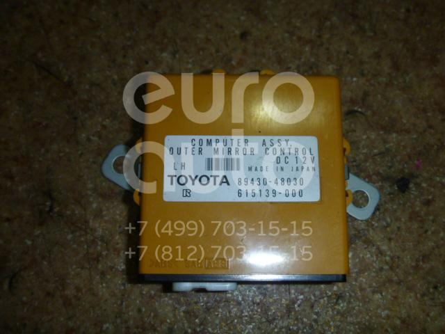 Блок электронный для Lexus RX 300/330/350/400h 2003-2009 - Фото №1