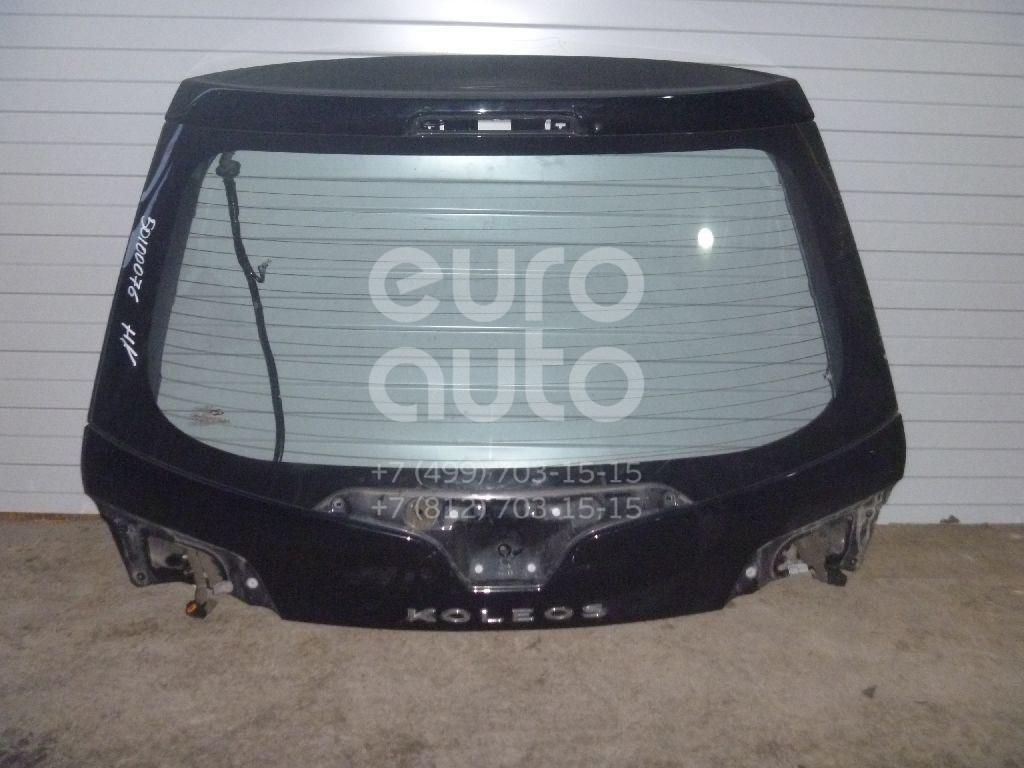 Дверь багажника со стеклом для Renault Koleos (HY) 2008-2016 - Фото №1
