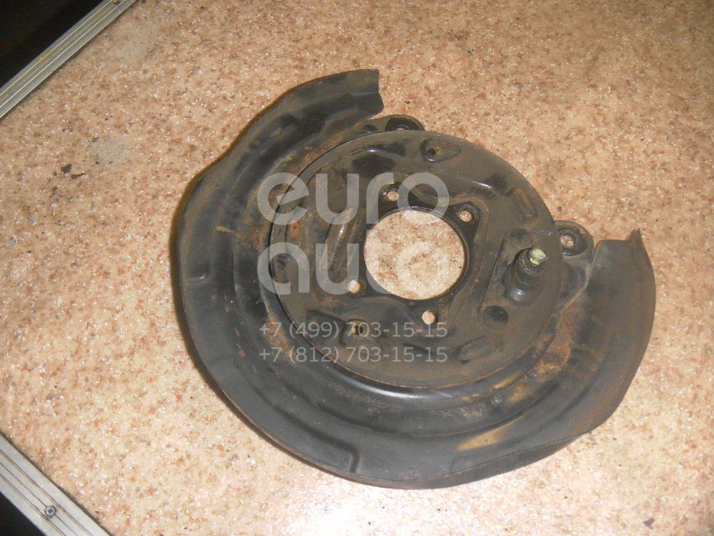 Щит опорный задний правый для Mitsubishi Galant (DJ,DM) 2003-2012 - Фото №1