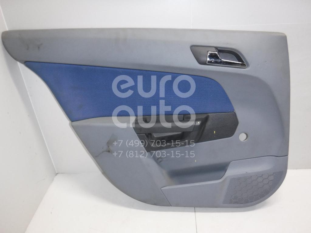 Обшивка двери задней левой для Opel Astra H / Family 2004-2015 - Фото №1