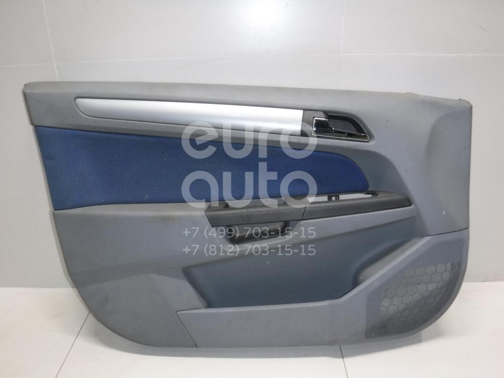 Обшивка двери передней левой для Opel Astra H / Family 2004-2015 - Фото №1