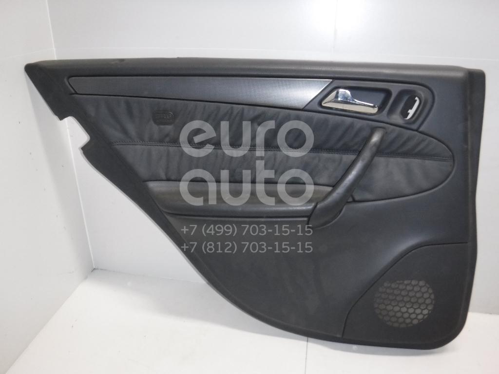 Обшивка двери задней левой для Mercedes Benz W203 2000-2006 - Фото №1