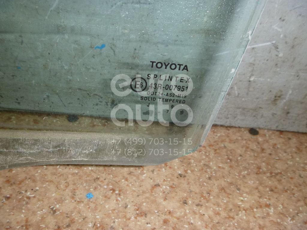 Стекло двери задней левой для Toyota Corolla E11 1997-2001 - Фото №1