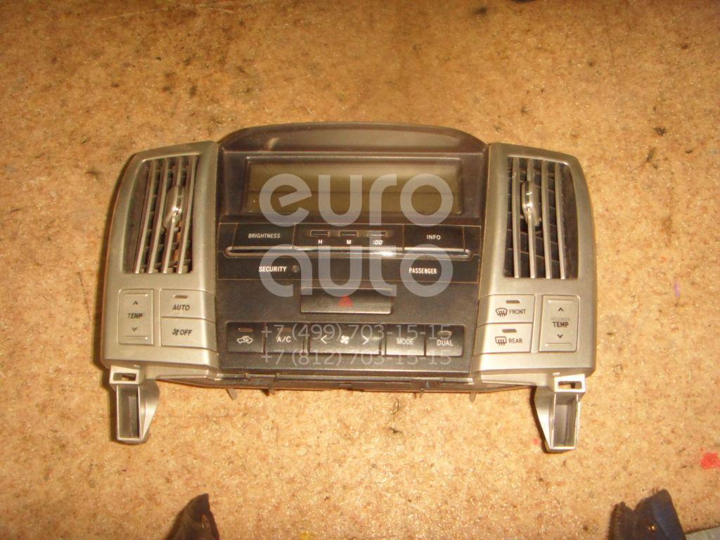 Купить Блок управления климатической установкой Lexus RX 300/330/350/400h 2003-2009; (8401048310)