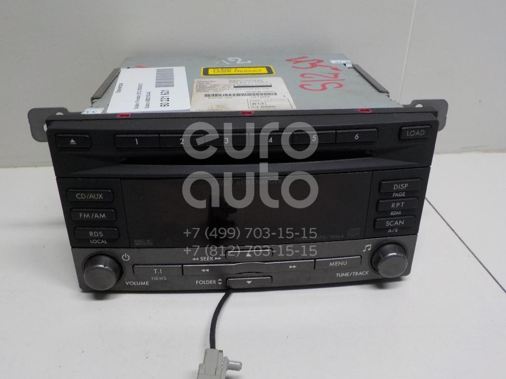 Магнитола Subaru Forester (S12) 2008-2012; (86201SC440)