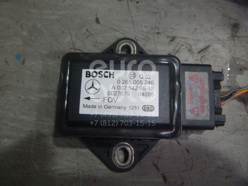 Купить Датчик ускорения Mercedes Benz W211 E-Klasse 2002-2009; (0265005246)