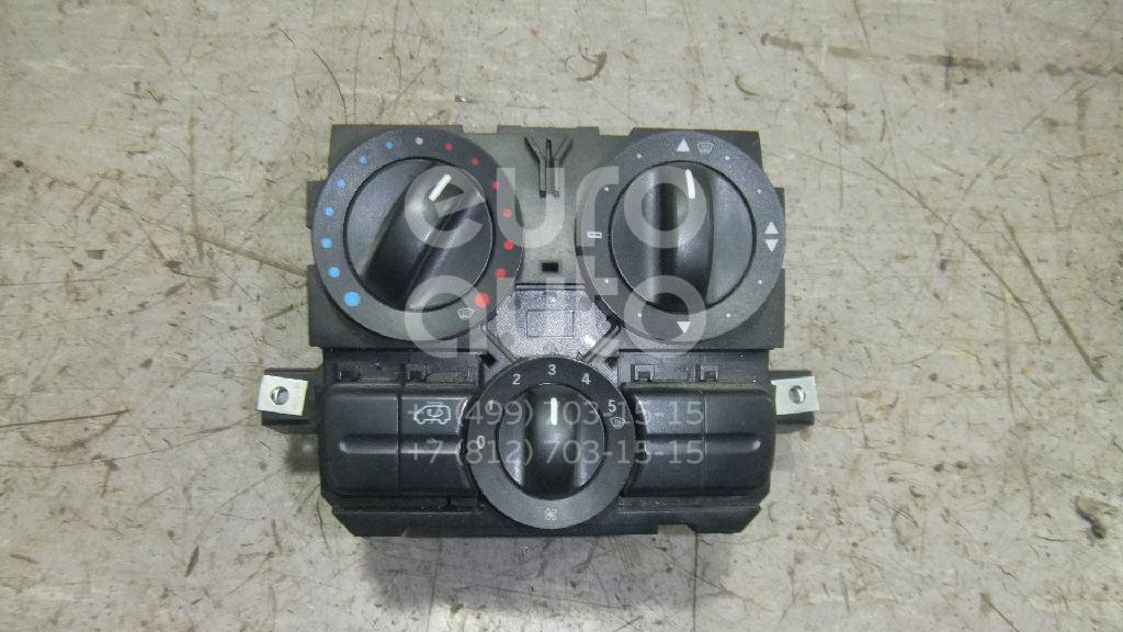 Купить Блок управления отопителем Mercedes Benz Vito/Viano-(639) 2003-2014; (6398301185)