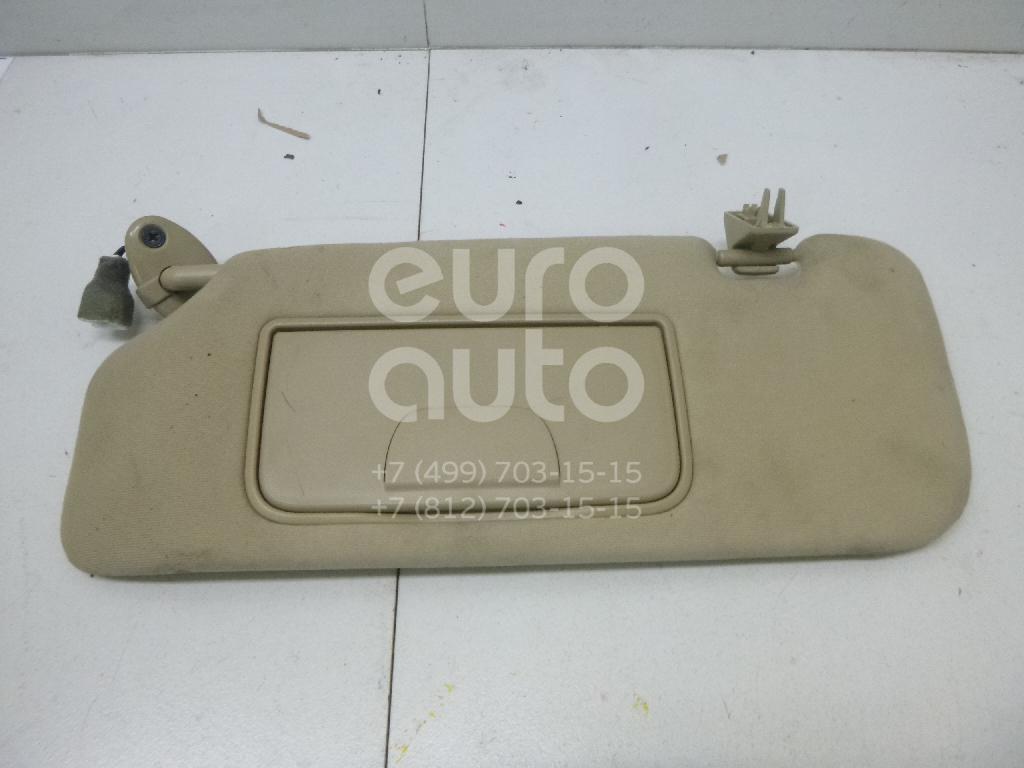 Купить Козырек солнцезащитный (внутри) Chevrolet Captiva (C100) 2006-2010; (96801325)