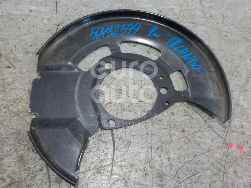 Пыльник тормозного диска Chevrolet Orlando 2011-2015; (13337294)