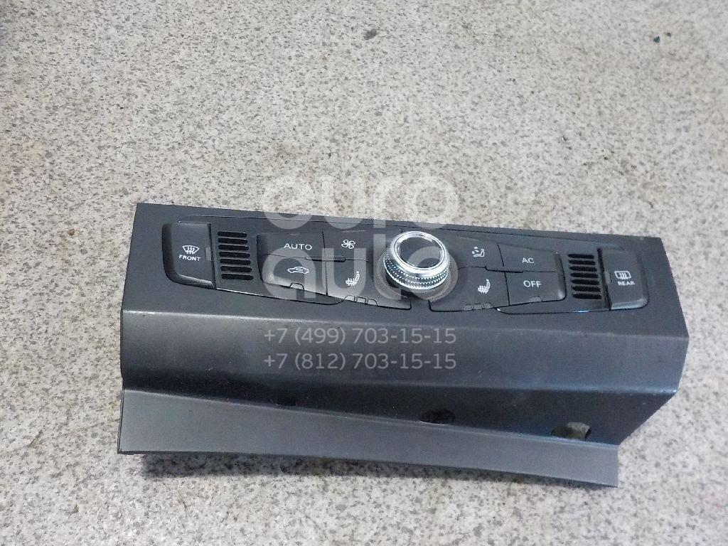 Купить Блок управления климатической установкой Audi A4 [B8] 2007-2015; (8K1820043RXZF)