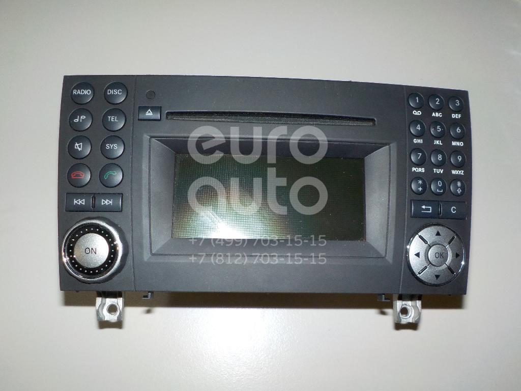 Купить Магнитола Mercedes Benz R171 SLK 2004-2011; (1719000100)