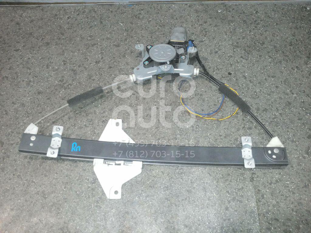 Стеклоподъемник электр. передний правый Chevrolet Captiva (C100) 2006-2010; (96624333)