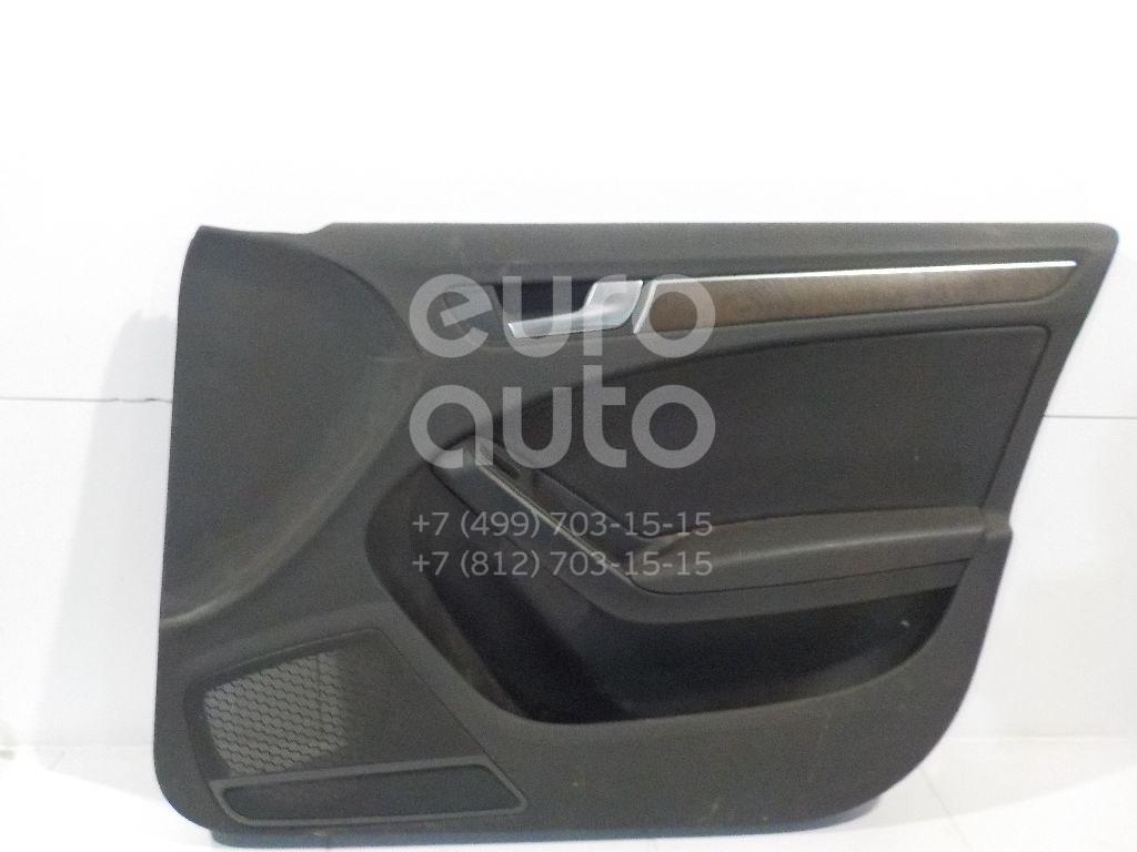 Купить Обшивка двери передней правой Audi A4 [B8] Allroad 2010-2015; (8K0867104AKWFA)