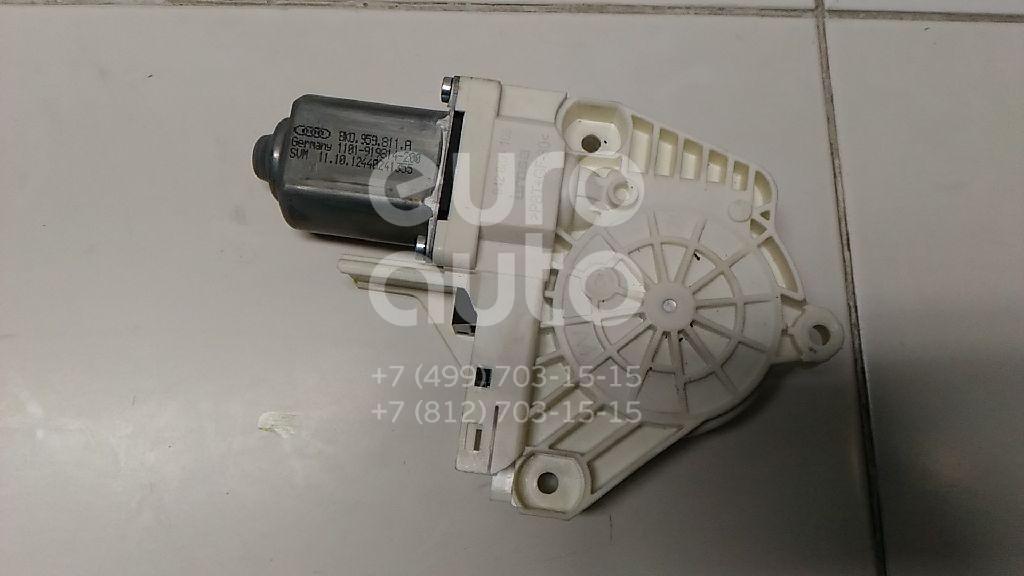 Купить Моторчик стеклоподъемника Audi A4 [B8] 2007-2015; (8K0959811A)