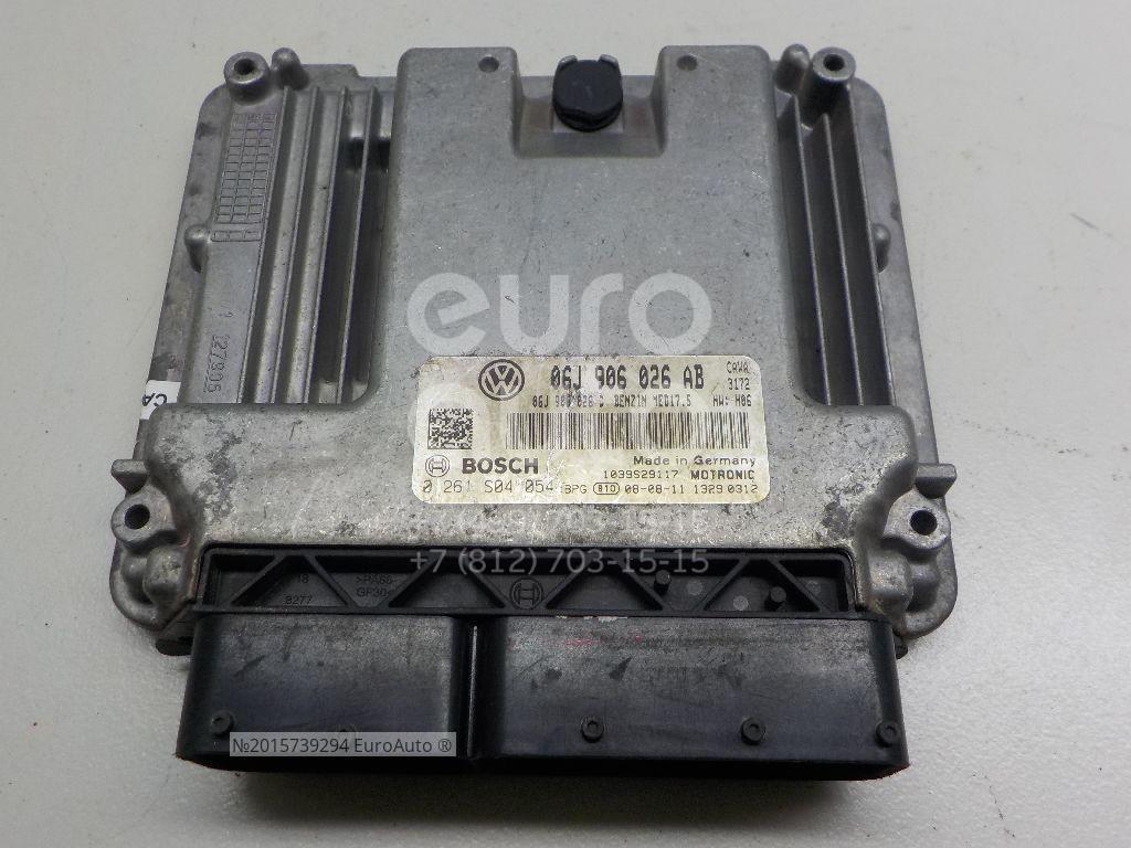 Купить Блок управления двигателем VW Tiguan 2007-2011; (06J906026AB)