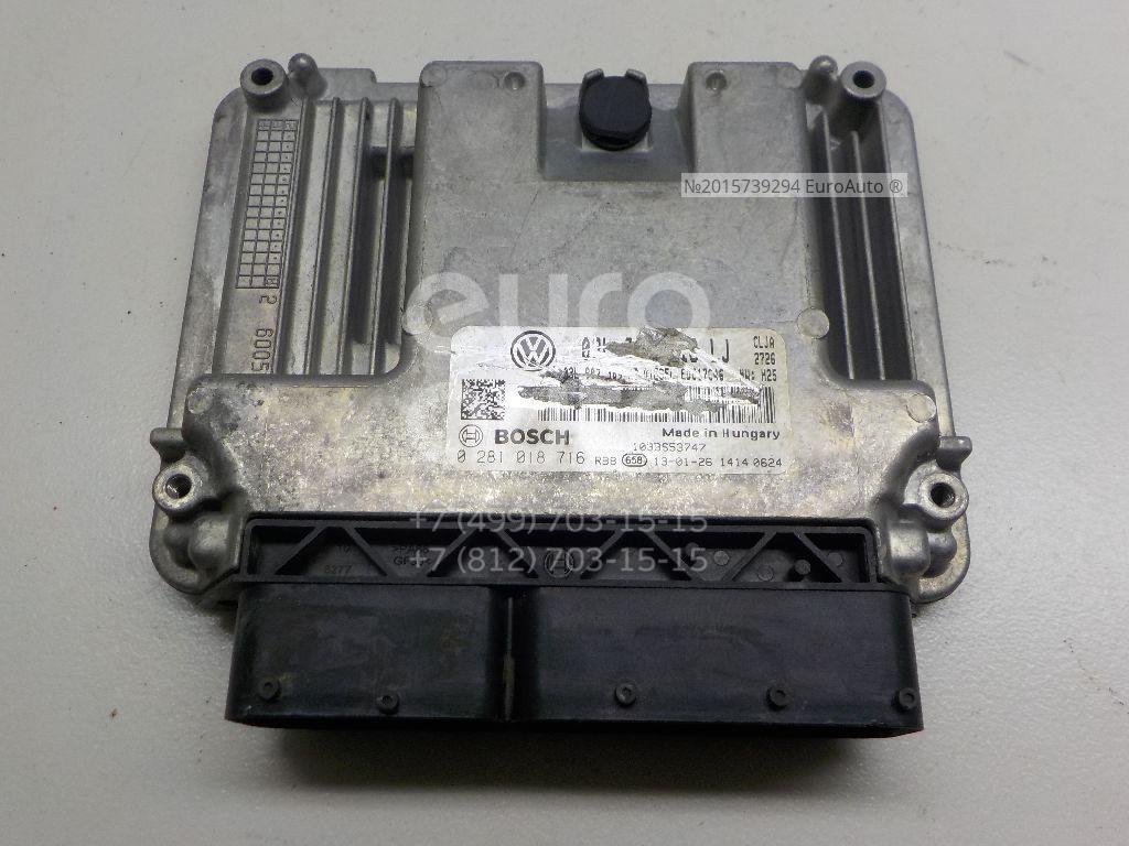 Блок управления двигателем VW Tiguan 2011-2016; (03L906018LJ)  - купить со скидкой