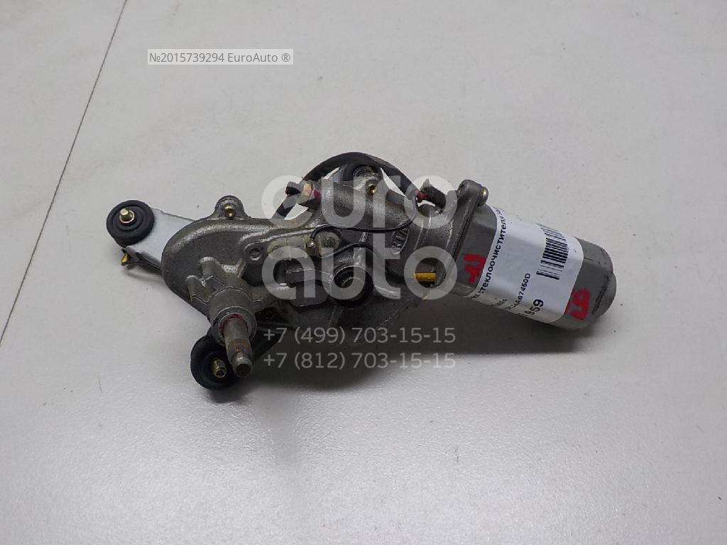 Купить Моторчик стеклоочистителя задний Kia RIO 2000-2005; (0K34A67450D)