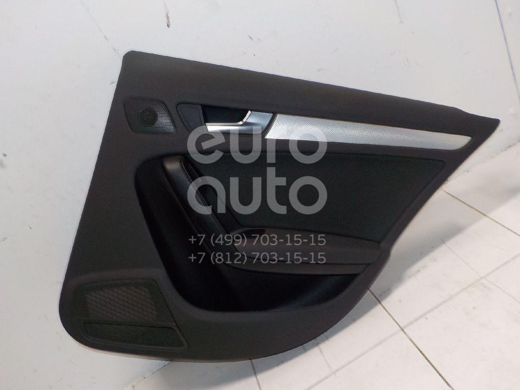 Купить Обшивка двери задней правой Audi A4 [B8] 2007-2015; (8K0867304GWFE)