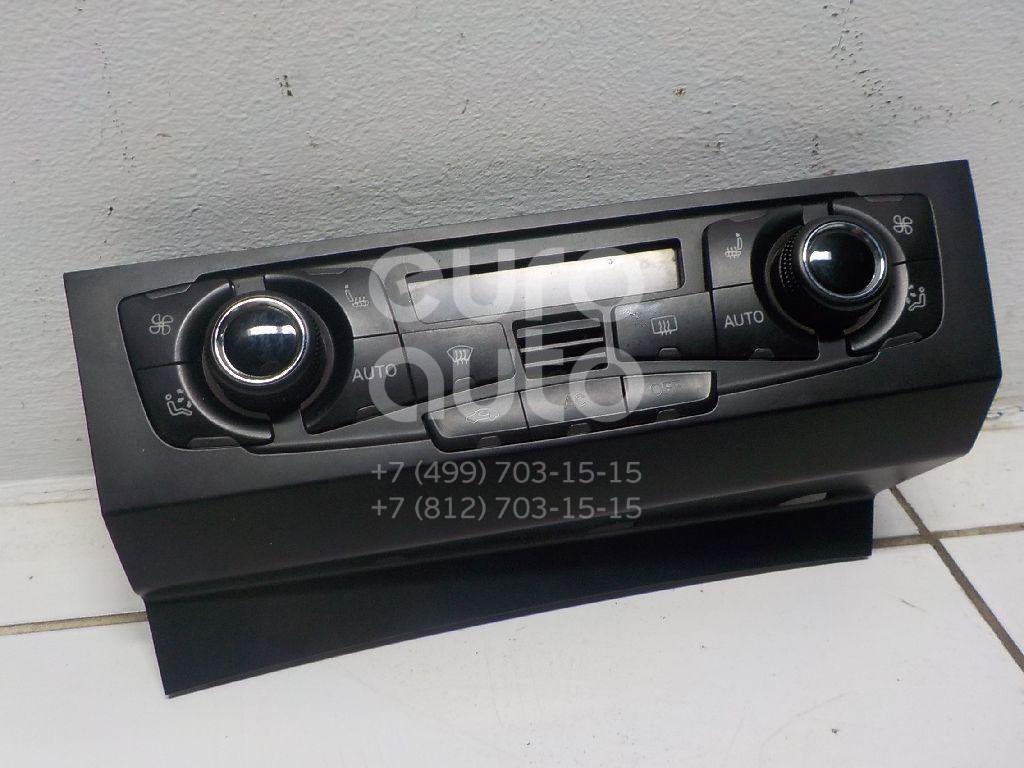 Купить Блок управления климатической установкой Audi A4 [B8] 2007-2015; (8T1820043AC)