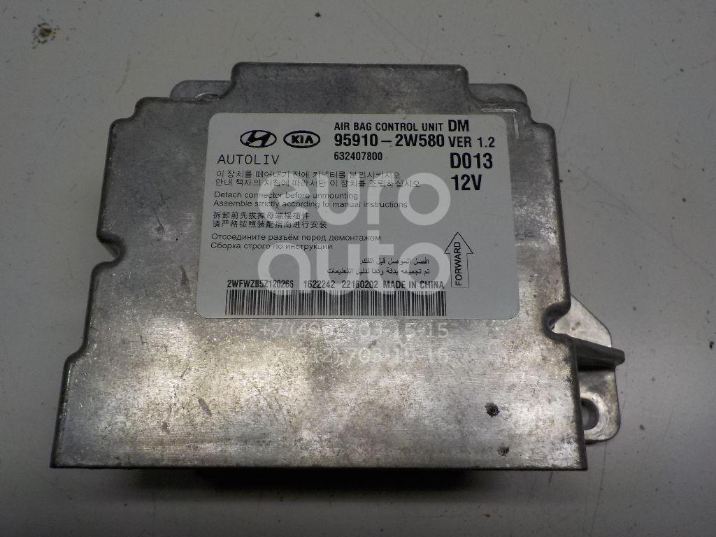 Купить Блок управления AIR BAG Hyundai Santa Fe (DM) 2012-; (959102W580)