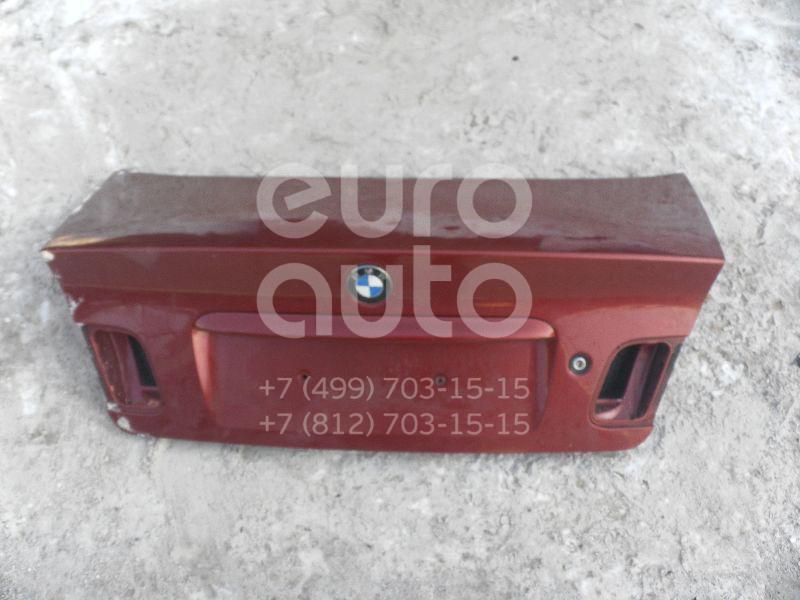 Крышка багажника BMW 3-серия E46 1998-2005; (41627003314)