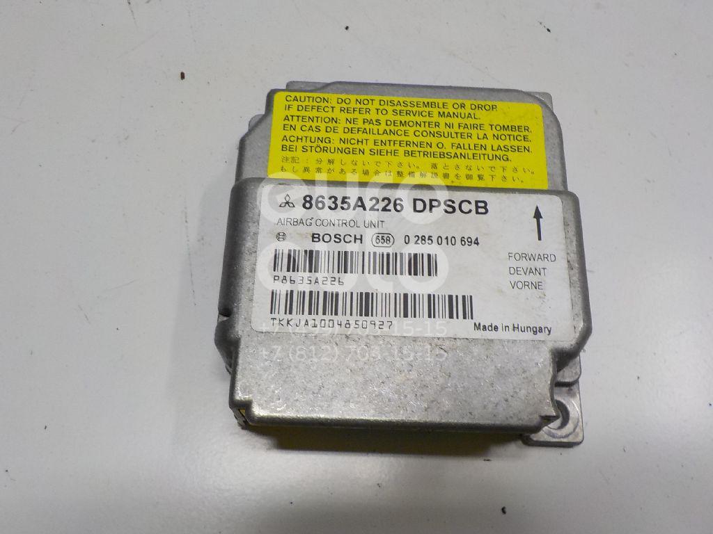 Блок управления AIR BAG Mitsubishi Colt (Z3) 2003-2012; (8635A226)  - купить со скидкой
