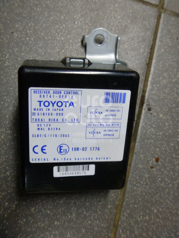 Купить Блок управления центральным замком Toyota CorollaVerso 2004-2009; (897410F010)