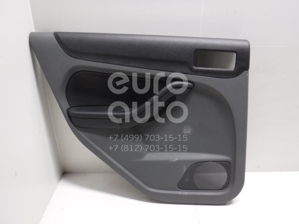 Купить Обшивка двери задней левой Ford Focus II 2008-2011; (1677571)