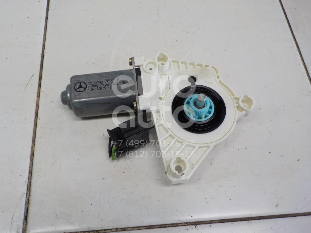 Моторчик стеклоподъемника Mercedes Benz A140/160 W169 2004-2012; (1698202042)