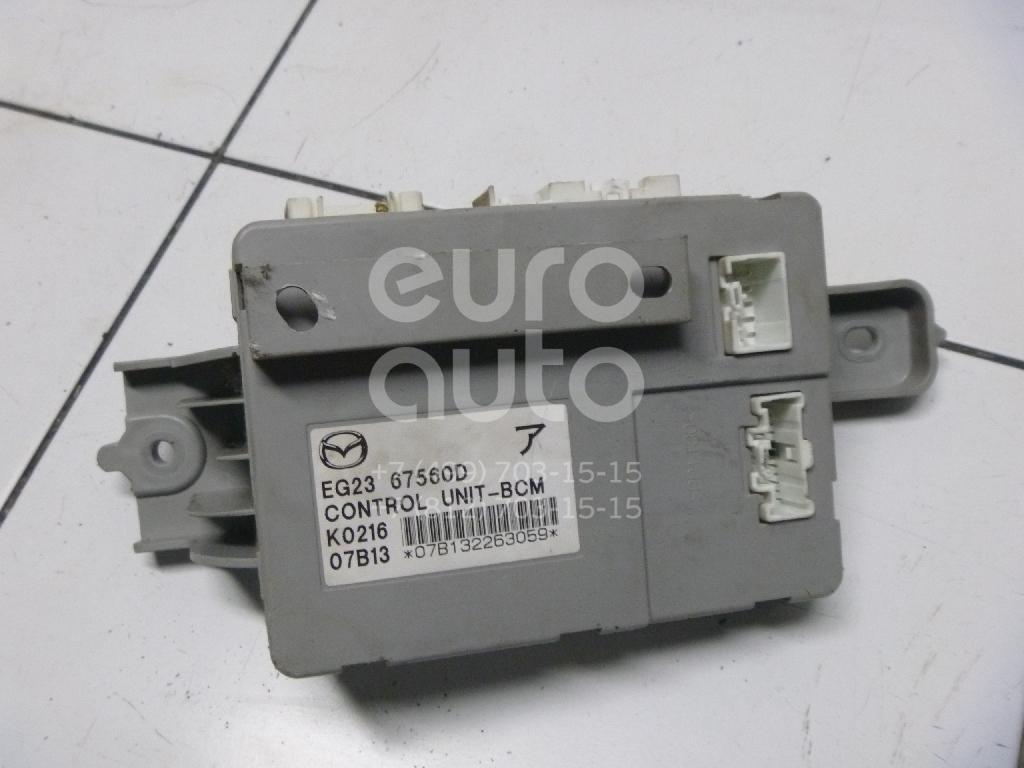 Блок комфорта Mazda CX 7 2007-2012; (EG2367560D)  - купить со скидкой