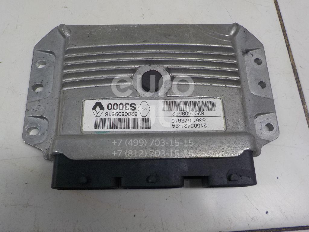 Блок управления двигателем Renault Megane II 2003-2009; (8200509552)