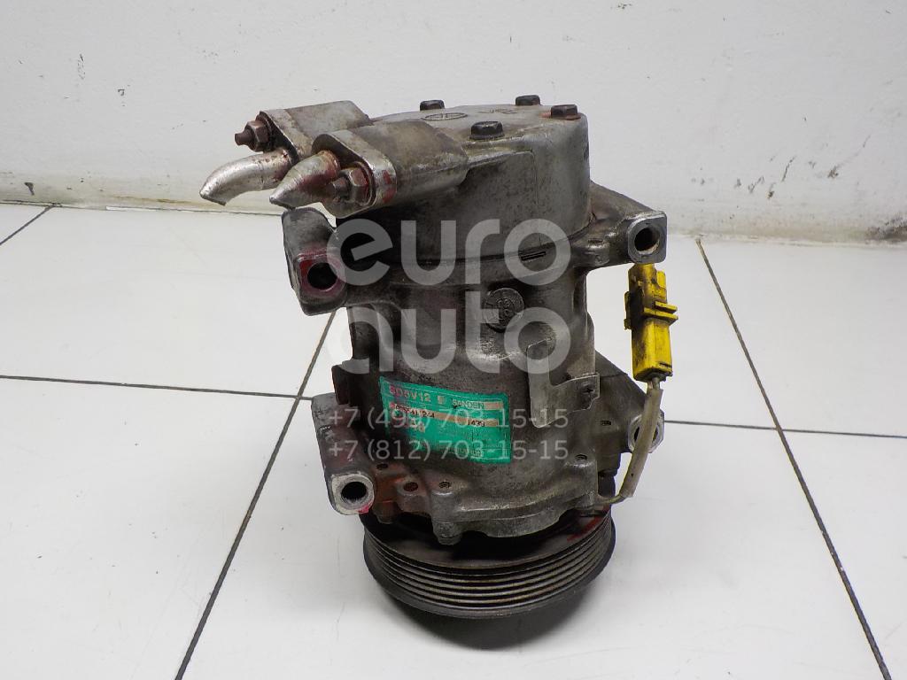 Компрессор системы кондиционирования Peugeot 307 2001-2008; (6453QK)