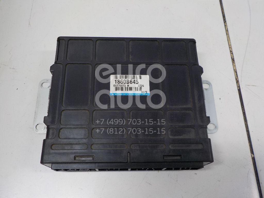 Купить Блок управления двигателем Mitsubishi Pajero/Montero Sport (KH) 2008-2015; (1860B645)
