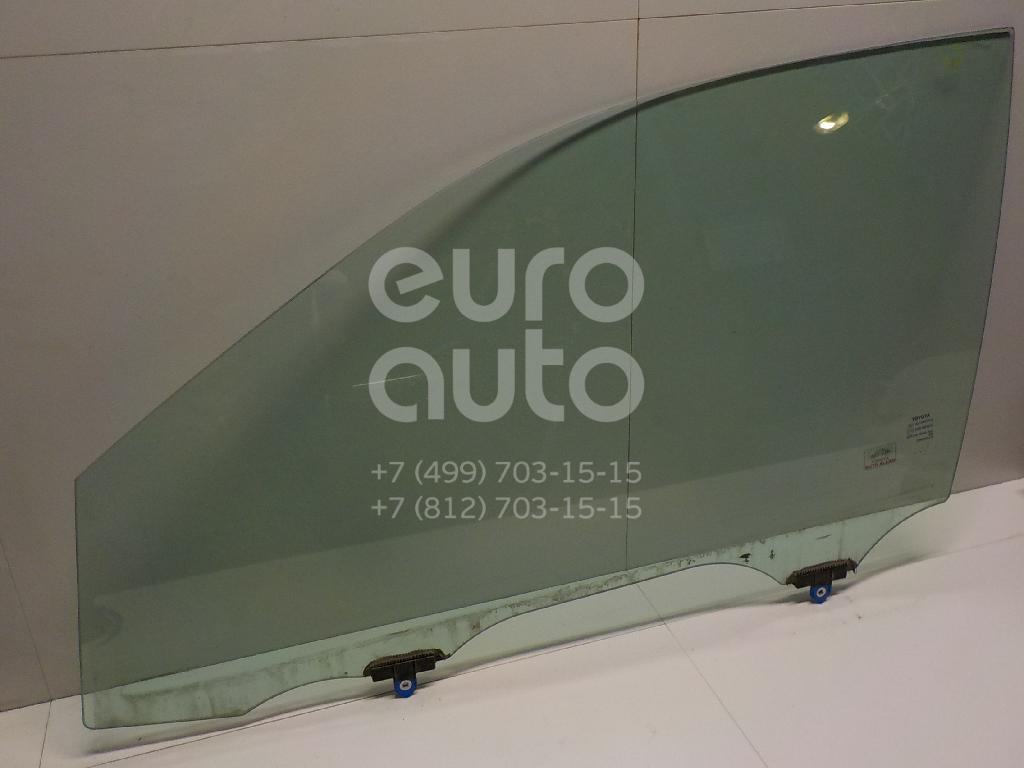 Купить Стекло двери передней левой Toyota Highlander III 2013-; (681020E060)
