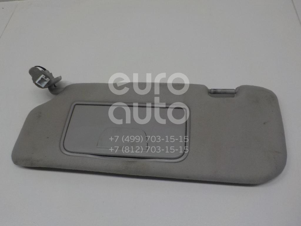 Купить Козырек солнцезащитный (внутри) Chevrolet Captiva (C100) 2006-2010; (96801324)