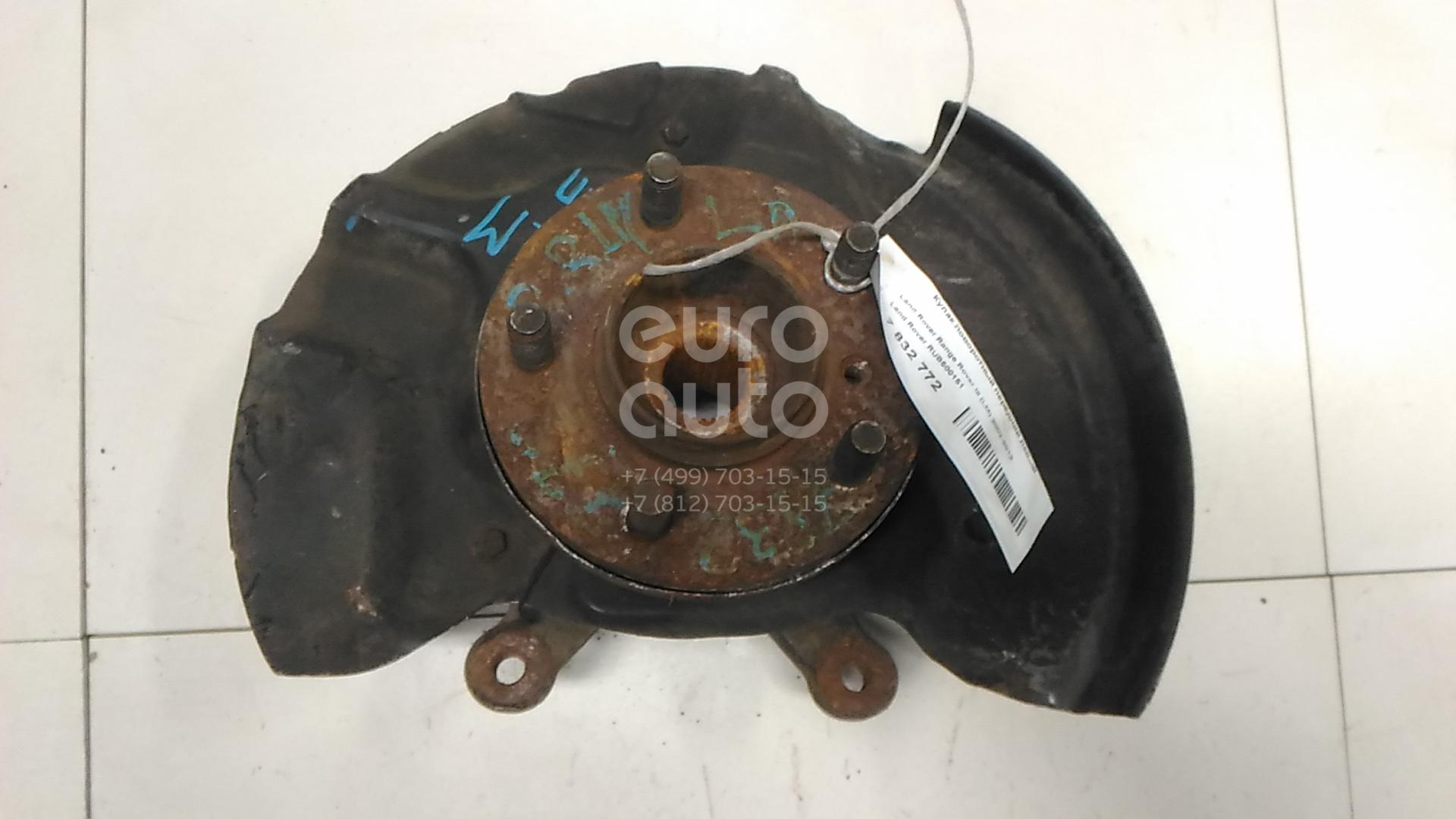 Купить Кулак поворотный передний левый Land Rover Range Rover III (LM) 2002-2012; (RUB500151)